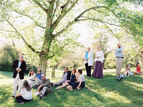 Casual Backyard Wedding by Casual Outdoor Wedding