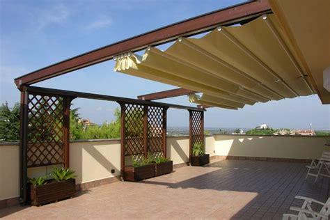terrazza sul tetto definizione tenda retrattile o quot pergotenda quot per il consiglio di stato
