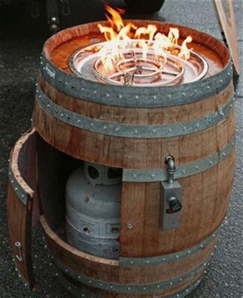 wine barrel pit pit