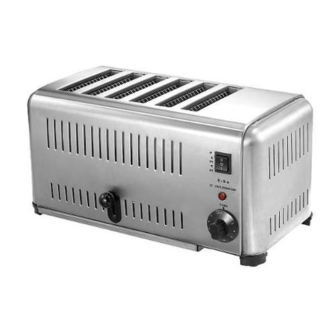 Commercial Toaster Commercial Toaster Six Slice Ets 6 Island Supply Company