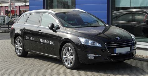 peugeot 608 estate plik peugeot 508 sw frontansicht 2 april 2011 hilden