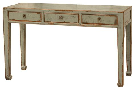 console accent tables console table 3 drawer asian side tables and end