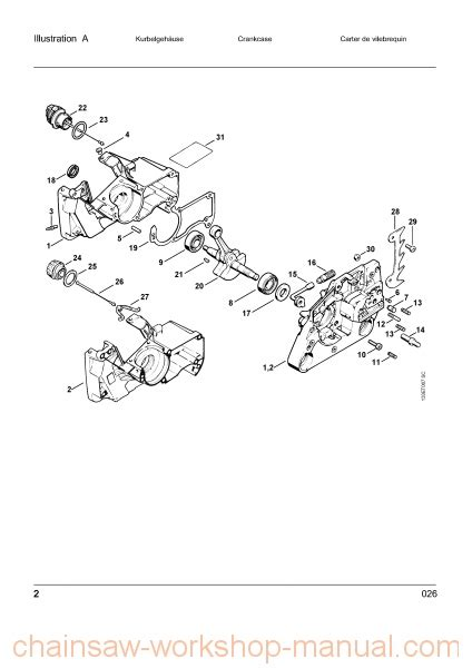 stihl chainsaw 026 parts diagram stihl 026 parts diagram wiring diagram and fuse box diagram