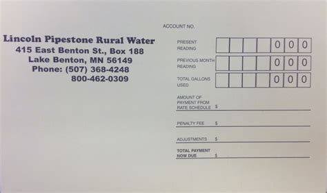 lincoln pipestone rural water rates policies lincoln pipestone rural water