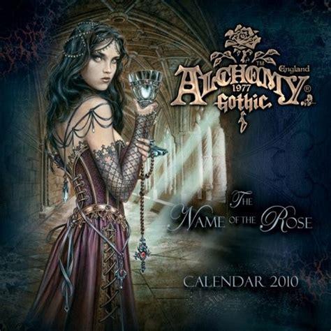 alchemy 1977 gothic 2018 official calendar 2010 alchemy calendarios 2018