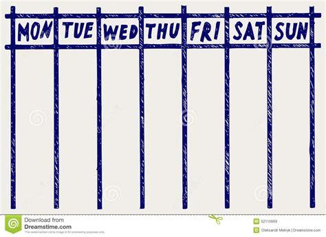 clipart calendario weekly calendar clipart 68