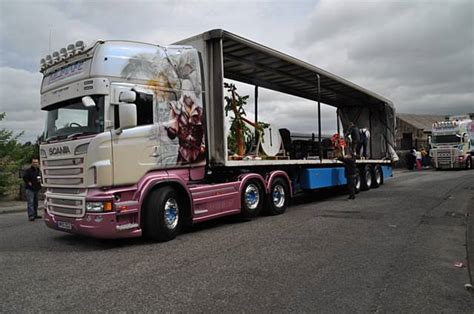 rochdale news business news heywood freight firm has its distinctive trucks shown on truck