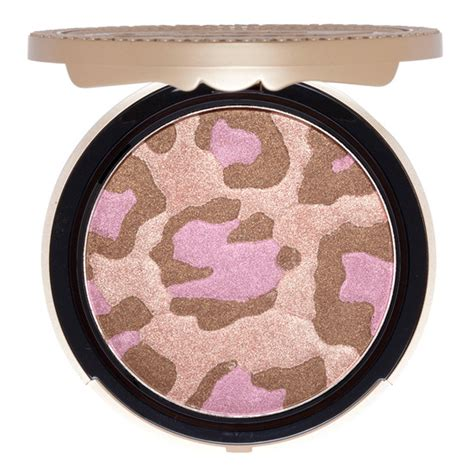 Faced Pink Leopard Bronzing Powder by Faced Pink Leopard Blushing Bronzer Beautylish