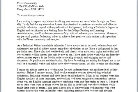 Fiverr Resume by Edit Up To 2 Pages Of A Cover Letter Or Resume Fiverr