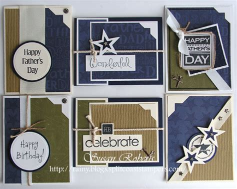 Masculine Card Template by 2009 June 187 Rainy Day Creations