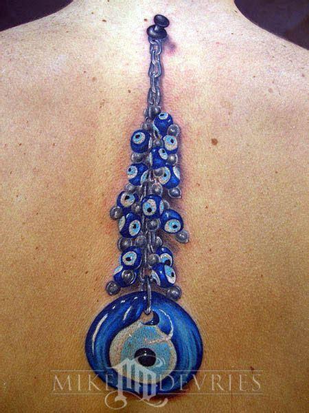 tattoo turkish eye mike devries tattoos misc evil eye bead tattoo