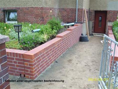 beeteinfassung klinker maurer und betonbaumeister uwe richter in rangsdorf