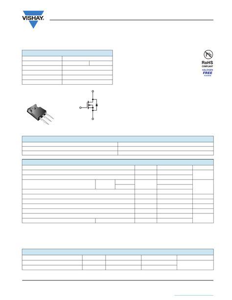transistor g20n50c transistor mosfet sihg20n50c 28 images g20n50c datasheet vds 560v power mosfet vishay