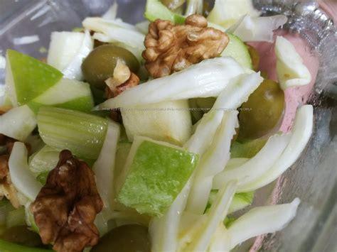 insalata di sedano e noci insalata di sedano mela verde finocchi olive e noci