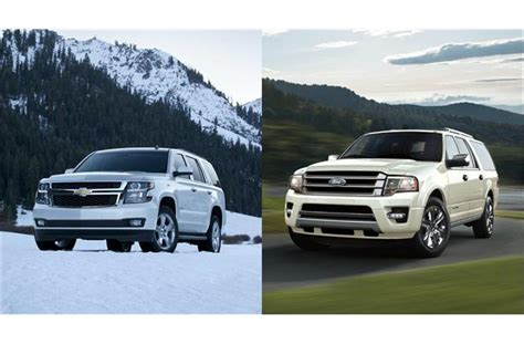 chevy tahoe vs ford expedition 2017 chevrolet tahoe vs 2017 ford expedition to