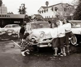 car wash ca 1950s vintage everyday
