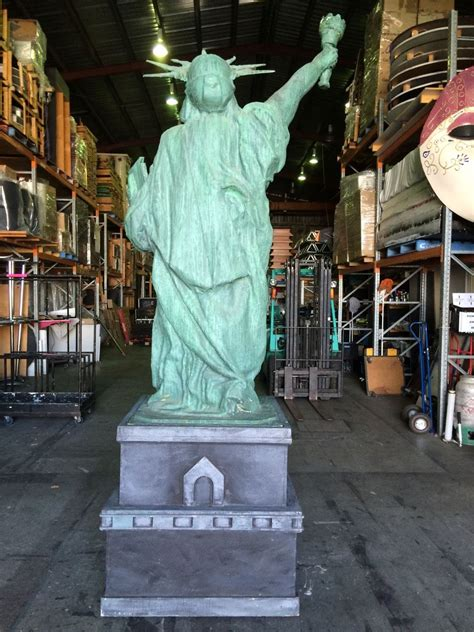 statue of liberty ottoman staging dimensions brisbane prop hire brisbane event