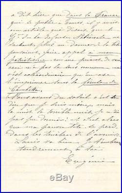 lettre dexil la lettres vieux papiers imp 233 ratrice eug 233 nie lettre autographe 192 napoleon iii 1870 exil