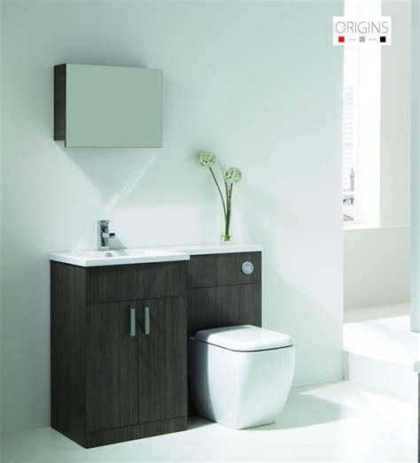 Oak Bathroom Furniture Uk Origins Fusion Grey Oak Vanity Unit Uk Bathrooms