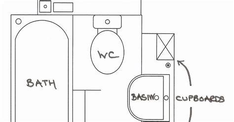 sketsa simple desain kamar mandi koleksi gambar rumah minimalis