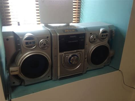 Panasonic 5disc Cd Player For Sale in Ashford, Wicklow from foxindbox