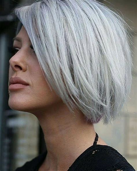 fine graycoming in of short bob hairstyles for 70 yr old 30 excellent short bob haircut models you ll like hair