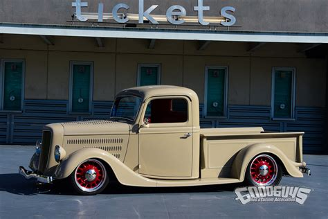 Modified A Frame House by 1936 Ford Pickup A New Life For An Old Ford Photo