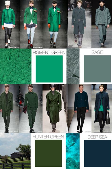 fashion colors for 2016 trends fall winter menswear color evolution f w 2015 16
