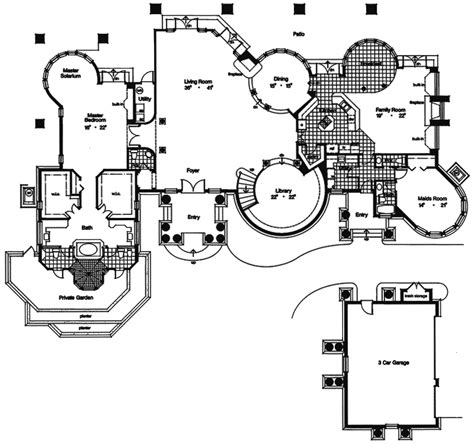 first floor in spanish home plans where you can reverse the image home design ideas