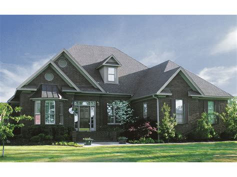 Portland Cove Country Home Plan 055d 0206 House Plans Bay House Plans