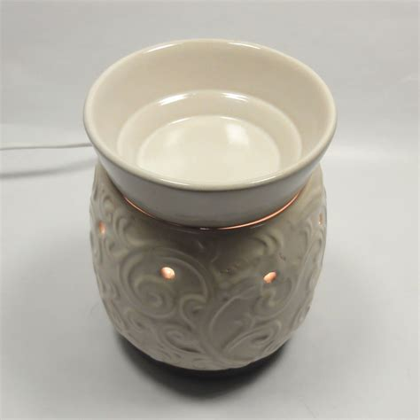 electric fragrance oil ls classic ceramic electric scent oil tart warmer diffuser