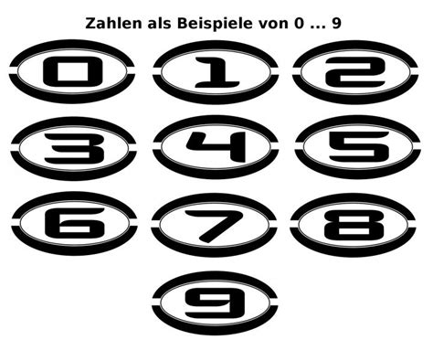 Aufkleber Selbst Gestalten Für Briefkasten by Nummer 1 99 Aufkleber Zahl Haust 252 R Haus Briefkasten
