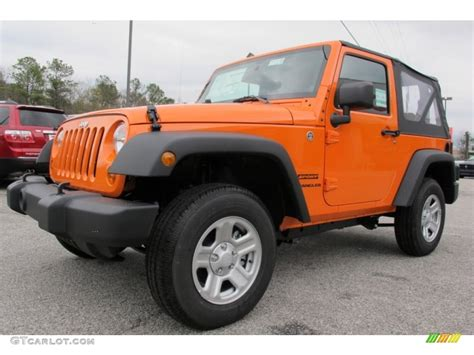 jeep orange crush crush orange 2012 jeep wrangler sport 4x4 exterior photo