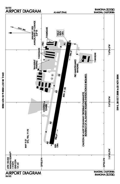 faa airport diagrams ramona airport
