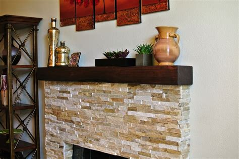 rustic wood fireplace mantel gallery
