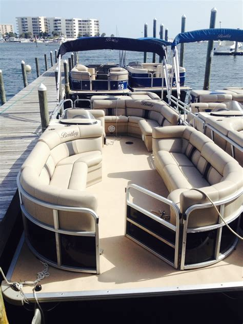 pontoon boats destin harbor destin harbor pontoon rental destin vacation boat rentals