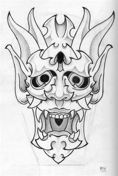 japanese mask tattoo design japanese designs for and japanese mask