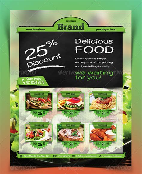 28 Food Flyer Templates Psd Vector Eps Jpg Download Freecreatives Food Flyers Templates