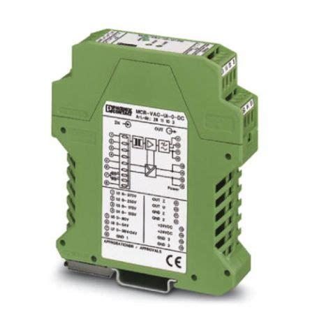 Ac Voltage Transducer 4 20ma by 2811103 Contact Voltage Transducer 0 370 V Ac