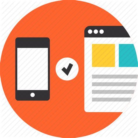 design usability icon check compatibility interface mobile responsive
