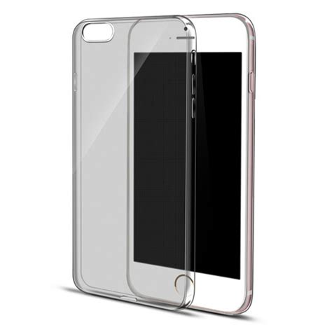 Thin For Iphone 6 6s 6 Plus 6s Plus Softcase iphone 6s 6 plus se 5s 5 ultra thin soft clear back cover grey