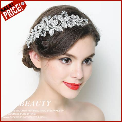 Wedding Hair Accessories Aliexpress by Aliexpress Buy 2016 Wedding Hair Accessories Bridal