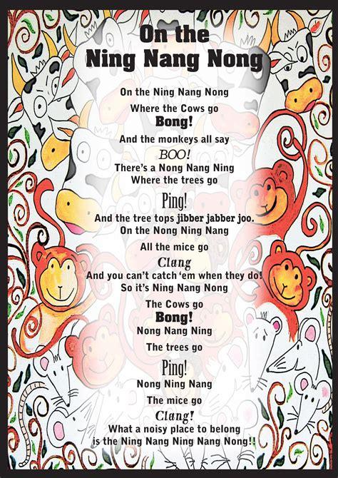 on the ning nang nong poem by spike milligan poem hunter degree work rachaelreeves