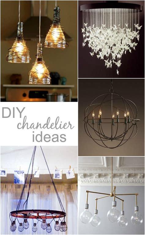 Handmade Chandeliers Ideas - best 25 diy chandelier ideas on no light how
