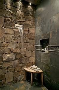 delightful Bedroom Furniture Interior Design #10: Bath-remodeling-ideas-bathroom-rustic-with-stone-wall-mosaic-tile.jpg