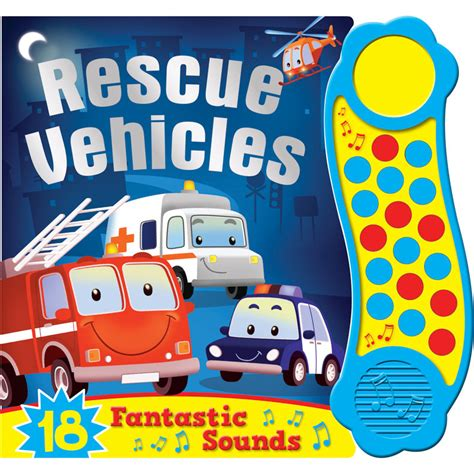 Emergency Vehicle Mega Sound Book mega sounds rescue vehicles books audio books
