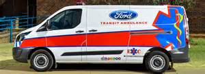 Corner Bench The Ford Transit Saving Lives In South Africa