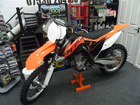 low motocross ktm 450 sxf efi electric start motocross bike low hour