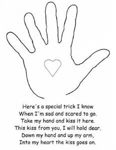 The kissing hand activity lovetoteach org free printable