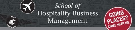 Wsu Vancouver Mba Program by Hospitality Business Management Carson College Of